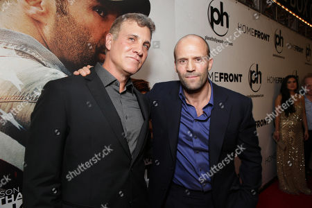 Director Gary Fleder and Jason Statham seen at Open Road 'Homefront' Premiere, on in Las Vegas