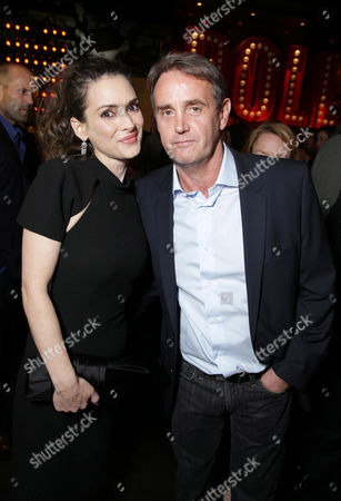 Winona Ryder and Producer Kevin King Templeton seen at Open Road 'Homefront' Premiere, on in Las Vegas
