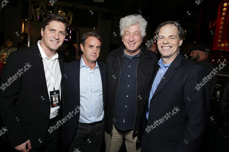 Open Road's Ben Cotner, Producer Kevin King Templeton, Executive Producer Avi Lerner and Open Road's Tom Ortenberg seen at Open Road 'Homefront' Premiere, on in Las Vegas