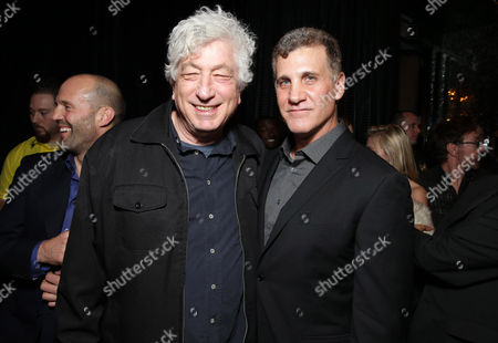 PREMIUM RATES APPLY Executive Producer Avi Lerner and Director Gary Fleder seen at Open Road 'Homefront' Premiere, on in Las Vegas