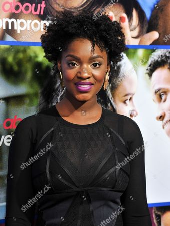 """Yaani King arrives at the Pan African Film and Arts Festival Premiere of """"About Last Night"""" on Tuesday, Feb, 11, 2014 in Los Angeles"""