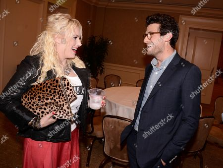 TakePart Live hosts Jacob Soboroff, right, and Raising McCain host Meghan McCain at Pivot's debut panel during the summer TCA at the Beverly Hilton Hotel on in Beverly Hills, Calif. Pivot presents it's network and series launch starting August 1, 2013