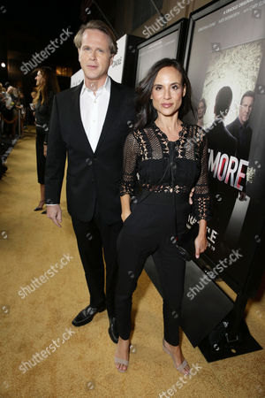 Cary Elwes and Lisa Marie Kubikoff seen at Los Angeles Premiere for Crackle's 'The Art of More' at Sony Pictures, in Los Angeles, CA