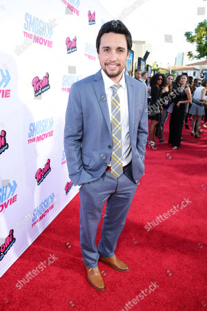 """Stock Image of Chester See seen at the Los Angeles Premiere of AwesomenessTV and Defy Media's """"SMOSH: THE MOVIE"""" held at Westwood Village Theatre, in Los Angeles"""