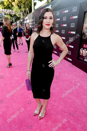 "Shauna Rappold seen at Los Angeles Premiere of STX Entertainment ""Bad Moms"" at Mann Village Theatre, in Los Angeles"
