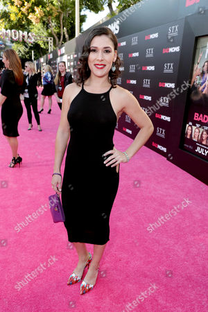 "Stock Photo of Shauna Rappold seen at Los Angeles Premiere of STX Entertainment ""Bad Moms"" at Mann Village Theatre, in Los Angeles"