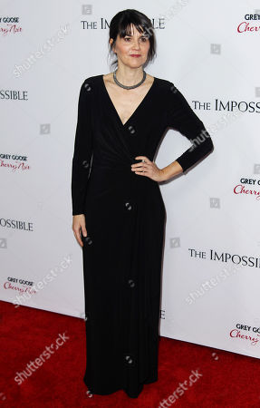 """Producer Maria Belon attends the premiere of """"The Impossible"""" at the Arclight Cinerama Dome, in Los Angeles. Belon survived the 2004 Indian Ocean tsunami and her story is the subject of the film"""