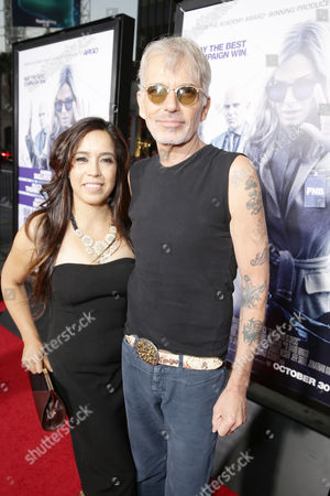 Connie Angland and Billy Bob Thornton seen at Los Angeles Premiere of Warner Bros. 'Our Brand is Crisis' at TCL Chinese Theatre, in Los Angeles, CA