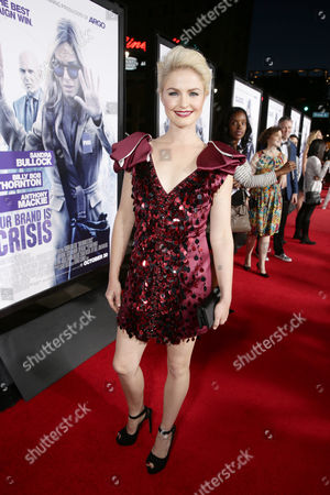 Whitney Able seen at Los Angeles Premiere of Warner Bros. 'Our Brand is Crisis' at TCL Chinese Theatre, in Los Angeles, CA