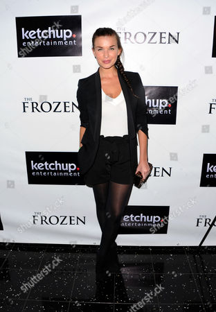 Stock Picture of Tahyna Tozzi is seen at the premiere of The Frozen on at The Arclight in Los Angeles, Calif