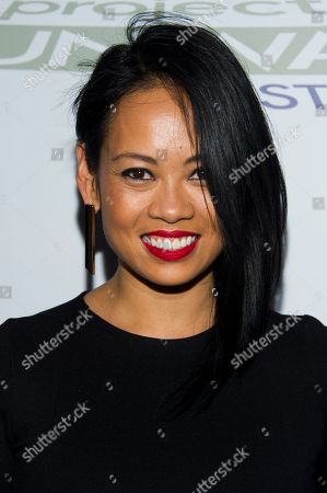 """Stock Picture of Anya Ayoung-Chee attends the """"Project Runway: All Stars"""" third season launch on in New York"""