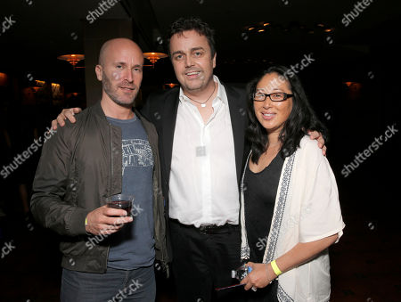 """Stock Photo of Murray Gold, Sean Callery and Debbie Dow attend a reception for """"SCORE! A Concert Celebrating Music Composed for Television"""" presented by the Television Academy at UCLA's Royce Hall, in Los Angeles"""