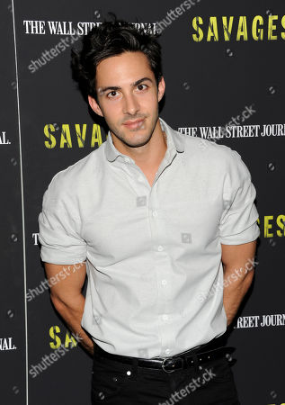 """Phillip Spaeth attends a special screening of """"Savages"""" at the SVA Theater on in New York"""