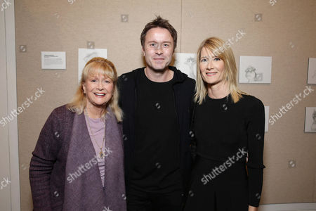 Exclusive - Diane Ladd, Director/Writer Stevan Riley and Laura Dern seen at Showtime Documentary films special screening of 'Listen to me Marlon' at The Paley Center for Media, in Los Angeles, CA