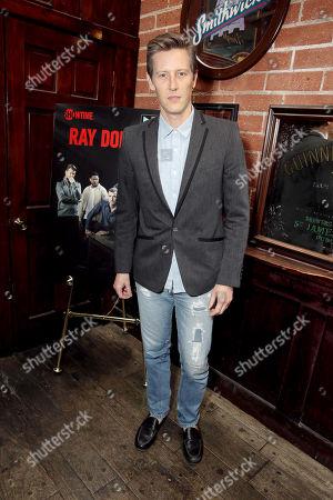 "Gabriel Mann seen at Showtime Drama Series ""Ray Donovan"" Premiere Night Viewing Party at O'Brien's Irish Pub & Restaurant, in Santa Monica, Calif"