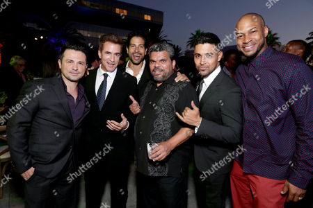 Freddy Rodriguez, Dermot Mulroney, Adam Rodriguez, Luis Guzman, Wilmer Valderrama and Finesse Mitchell seen at Showtime's Annual Summer Soiree at 2016 TCA at the Pacific Design Center, in West Hollywood, Calif