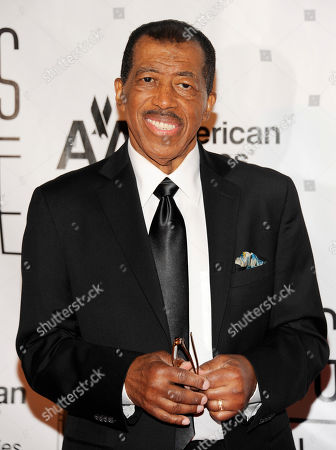 Stock Photo of Towering Performance Award inductee Ben E. King arrives at the 2012 Songwriters Hall of Fame induction and awards gala at the Marriott Marquis Hotel, in New York
