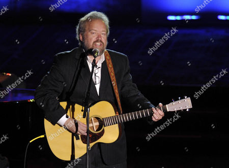 Inductee Don Schlitz performs at the 2012 Songwriters Hall of Fame induction and awards gala at the Marriott Marquis Hotel, in New York