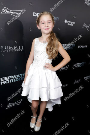 "Stella Allen seen at Summit Entertainment New Orleans Premiere of ""Deepwater Horizon"", in New Orleans"
