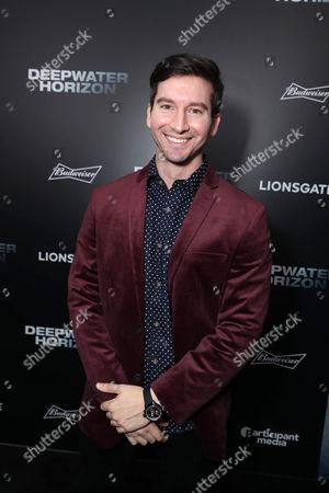 "Garrett Hines seen at Summit Entertainment New Orleans Premiere of ""Deepwater Horizon"", in New Orleans"