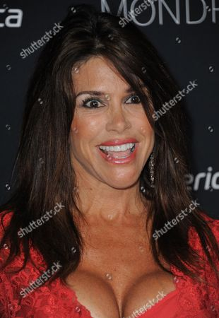 Stock Picture of Lynne Curtin attends the Sunset Strip Music Festival VIP party at SkyBar, in West Hollywood, Calif