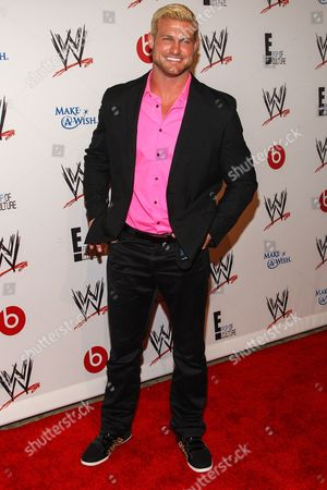 WWE Superstar Nicholas Nemeth (AKA Dolph Ziggler) arrives at the Superstars of Hope honors Make A Wish Foundation event at The Beverly Hills Hotel on in Beverly Hills, Calif