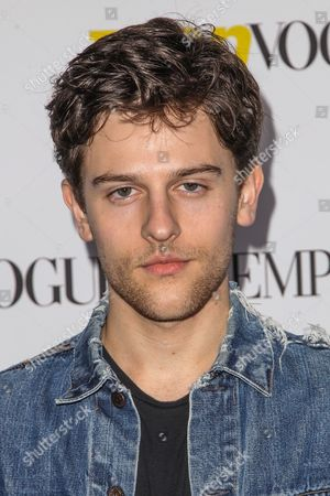 Stock Picture of Travis Tope attends the Teen Vogue's 13th Annual Young Hollywood Issue Launch Party on in Los Angeles