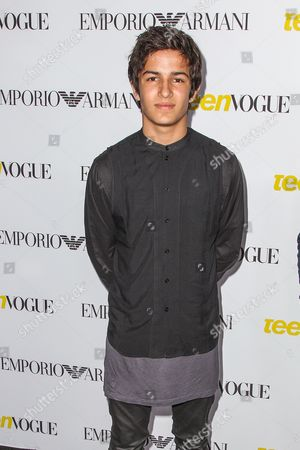 Aramis Knight attends the Teen Vogue's 13th Annual Young Hollywood Issue Launch Party on in Los Angeles