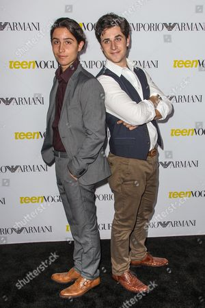 Lorenzo Henrie, left, and David Henrie attendsthe Teen Vogue's 13th Annual Young Hollywood Issue Launch Party on in Los Angeles