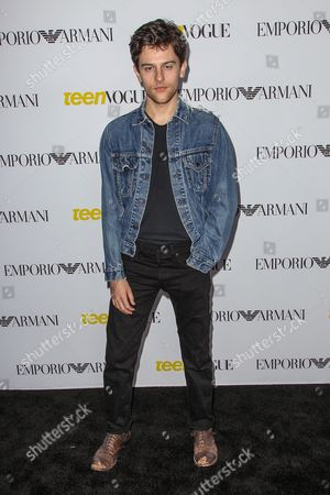 Stock Image of Travis Tope attends the Teen Vogue's 13th Annual Young Hollywood Issue Launch Party on in Los Angeles