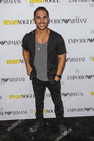 Carlos Pena, Jr. attends the Teen Vogue's 13th Annual Young Hollywood Issue Launch Party on in Los Angeles