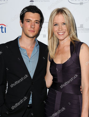 """Drew Roy and Jessy Schram arrive at the Academy of Television Arts & Sciences Presents """"The 6th Annual Television Honors"""" at the Beverly Hills Hotel on in Beverly Hills, Calif"""