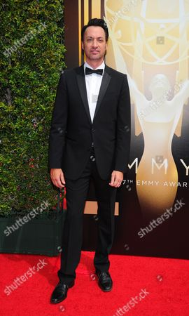 Stephen Full arrives at the Television Academy's Creative Arts Emmy Awards at Microsoft Theater, in Los Angeles