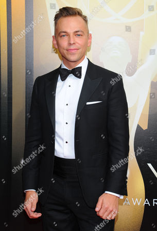 Paolo Nieddu arrives at the Television Academy's Creative Arts Emmy Awards at Microsoft Theater, in Los Angeles