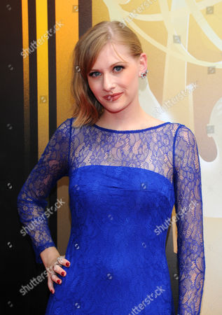 Stock Image of Dayeanne Hutton arrives at the Television Academy's Creative Arts Emmy Awards at Microsoft Theater, in Los Angeles
