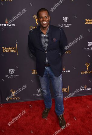 E. Brian Dobbins attends the Television Academy's 2016 Producers Nominee Reception at the Montage Hotel, in Beverly Hills, Calif