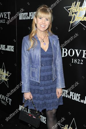 Julia Verdin arrives at the 6th Annual Hollywood Domino Gala & Tournament at the Sunset Tower Hotel on in Los Angeles