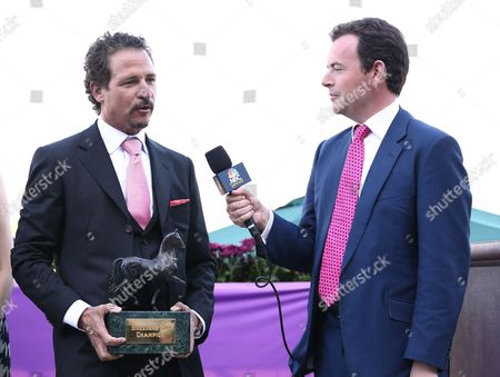 Jim Rome is seen on Day 2 of the Breeders' Cup World Championships, in Arcadia, Calif