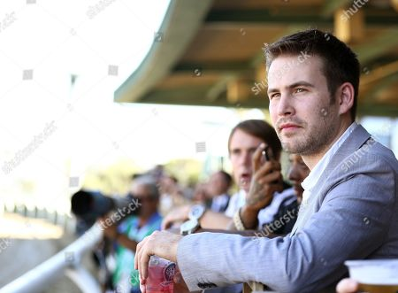 Zach Cregger is seen on Day 2 of the Breeders' Cup World Championships, in Arcadia, Calif