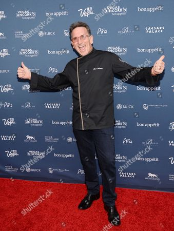 """Stock Image of Chef Rick Moonen attends """"The Grand Tasting"""" during Vegas Uncork'd by Bon Appetit, presented by Chase Sapphire Preferred, at The Garden of The Gods, Caesars Palace, in Las Vegas"""