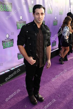 "Johnny Cannizzaro arrives at ""Hub Network's First Annual Halloween Bash"", at the Barker Hanger in Santa Monica, Calif. The star-studded special will be broadcasted on the Hub Network on Saturday Oct. 26, 2013"