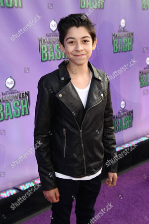 """Stock Photo of Fabrizio Guido arrives at """"Hub Network's First Annual Halloween Bash"""", at the Barker Hanger in Santa Monica, Calif. The star-studded special will be broadcasted on the Hub Network on Saturday Oct. 26, 2013"""