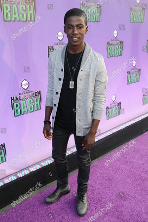 "Kwesi Boakye arrives at ""Hub Network's First Annual Halloween Bash"", at the Barker Hanger in Santa Monica, Calif. The star-studded special will be broadcasted on the Hub Network on Saturday Oct. 26, 2013"