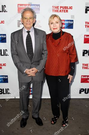 Ron Rifkin and Iva Rifkin attend the The Public Theater annual gala at The Delacorte Theater on in New York