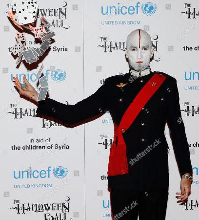 Editorial image of The UNICEF Halloween Ball, London, United Kingdom