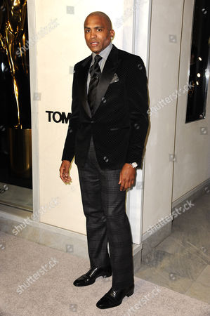 Stock Picture of Cuttino Mobley arrives at Tom Ford Cocktails in support of Project Angel Food on in Los Angeles
