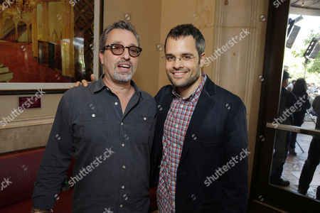 Producer Michael Barnathan and Director Thor Freudenthal seen at Twentieth Century Fox and Fox 2000 Present 'Percy Jackson: Sea of Monsters' special fan screening, on Wednesday, July, 31, 2013 in Los Angeles, Calif