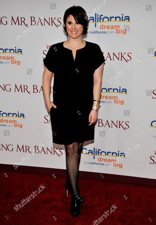 "Melanie Paxson arrives at the U.S. Premiere of ""Saving Mr. Banks"" - Arrivals at Disney Studios on Monday, December, 9, 2013 in Burbank, Calif"