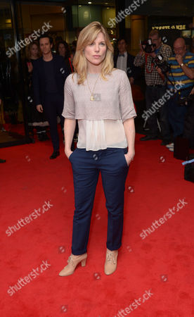 "Eva Birthistle arrives at the UK Screening of ""The Stag"" at Vue Cinema in London on Thursday, March. 13th, 2014"