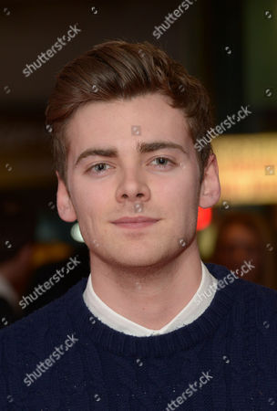 """Thomas Law arrives at the UK Screening of """"The Stag"""" at Vue Cinema in London on Thursday, March. 13th, 2014"""